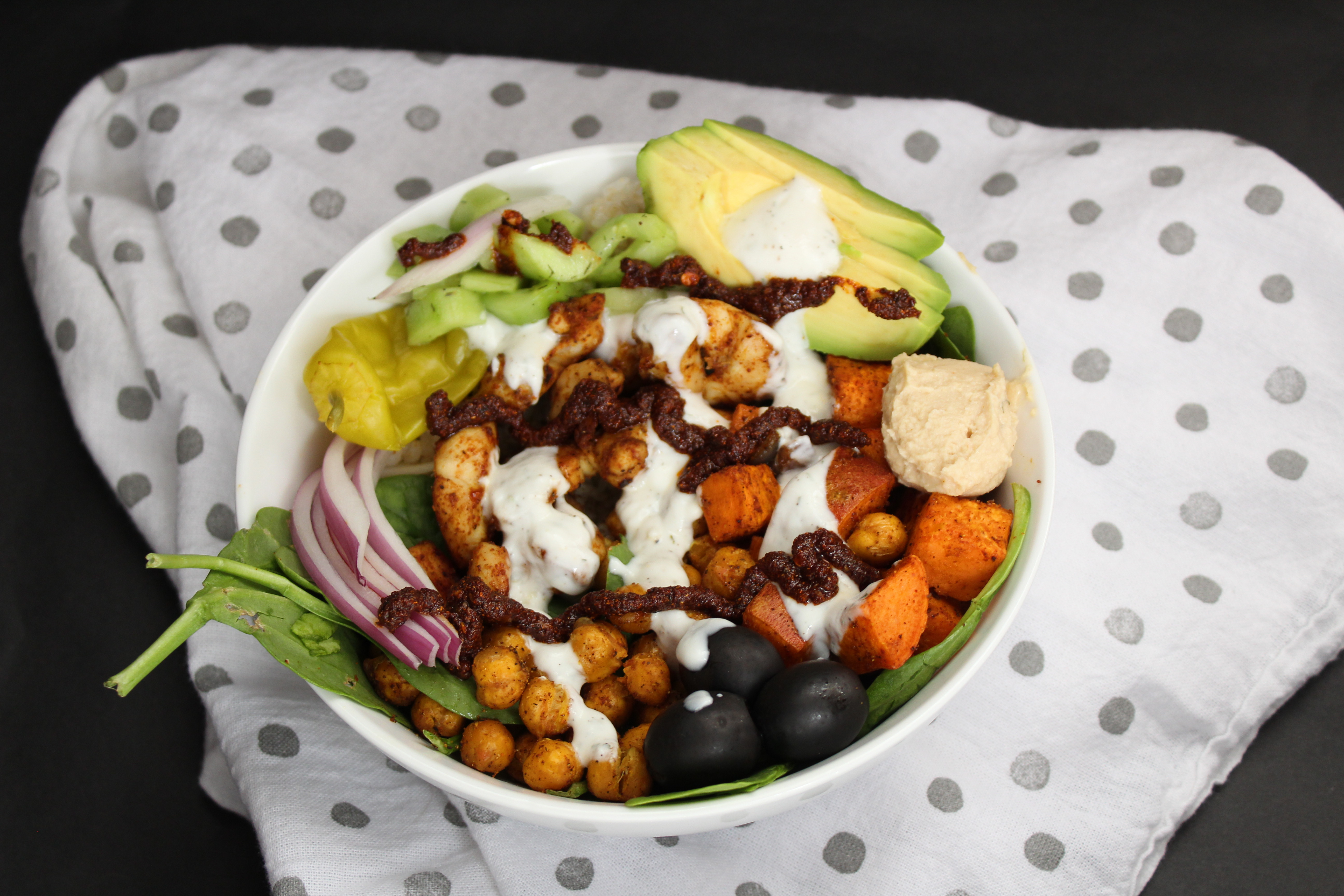 Chicken Bowl - Morrocan Bowl 3