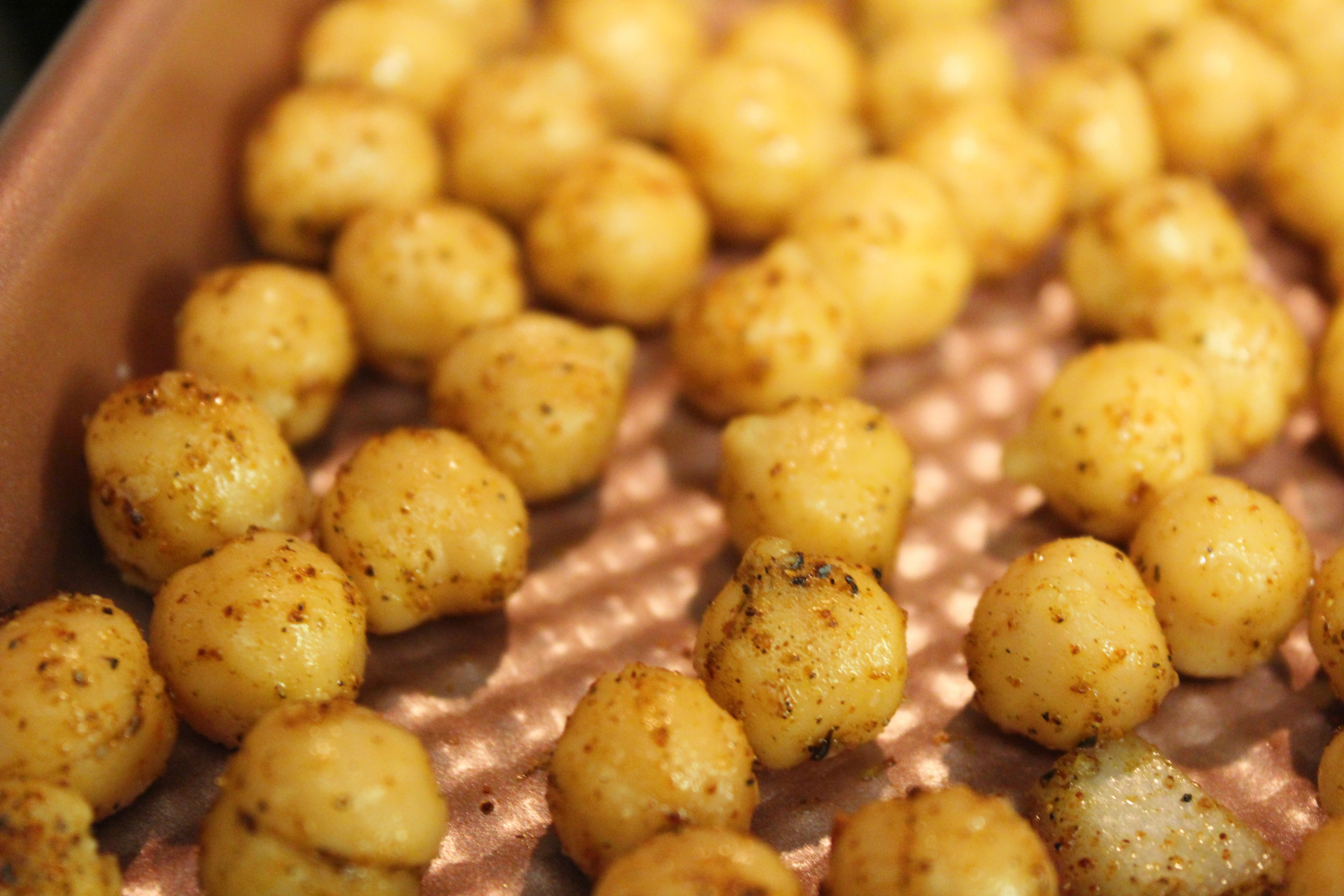 Close-up Chickpeas - Morrocan Bowls