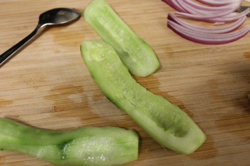 Peeled Cucumber - Morrocan Bowl