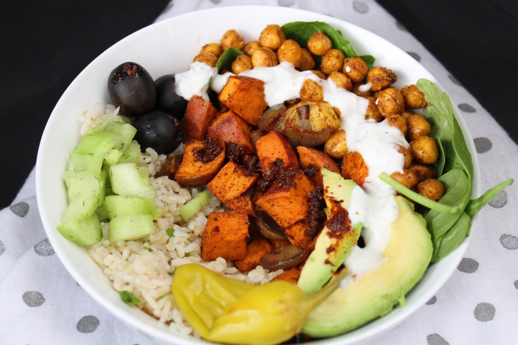 Vegan Bowl AG ST - Morrocan Bowl